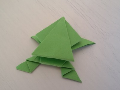Origami Frog - Rana de Papel
