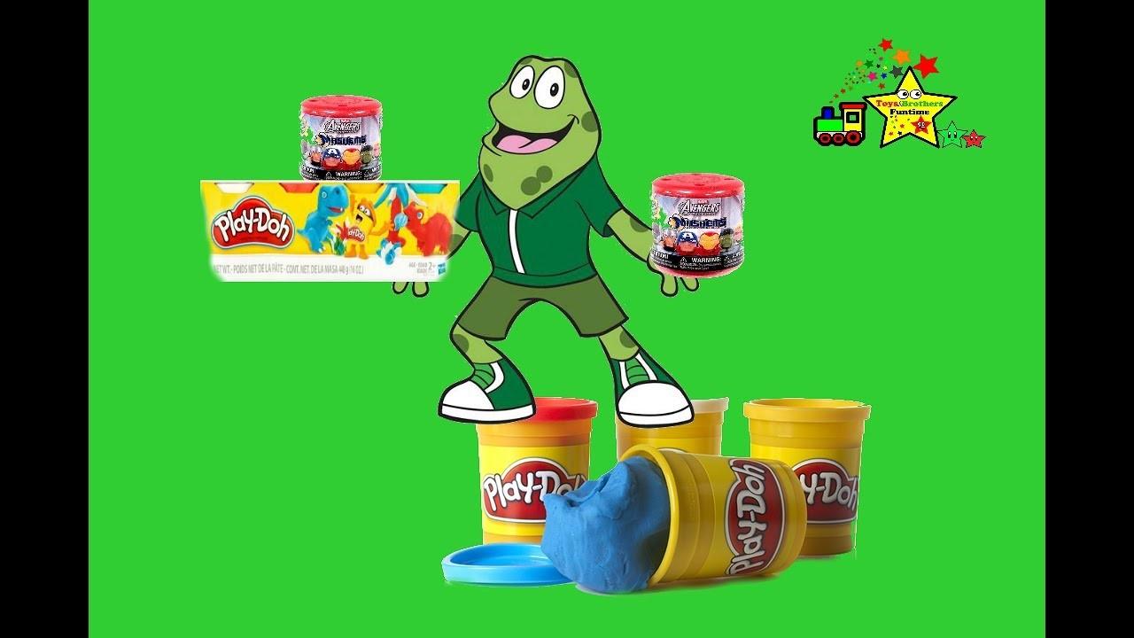 Play Doh Plasticina Mashem's Super Hero y Atencion Atencion a jugar y aprender