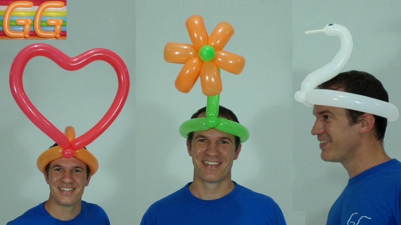 Sombreros Locos Como Hacer Figuras Con Globos