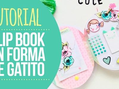 Tutorial FlipBook en forma de gatito