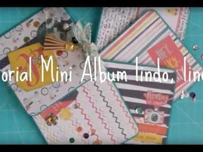 Tutorial mini album lindo, lindo!!