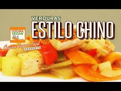 Verduras estilo chino - Cocina Vegan Fácil (Reeditado)