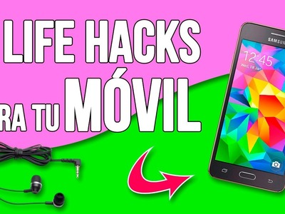 9 Simple LIFE HACKS for your PHONE * TRUCOS increíbles para tu MÓVIL ✅  Top Tips & Tricks 1 minuto