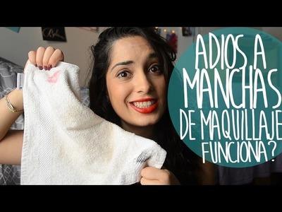 Adios a manchas de maquillaje - Funciona? | Flor Tedesco