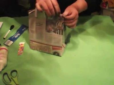 Bolsas de regalo de papel reciclado para varones