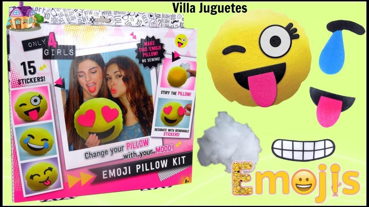 Cojin para Decorar como Emojis con Diferentes Emociones Has Cojin de Emoji sin Coser