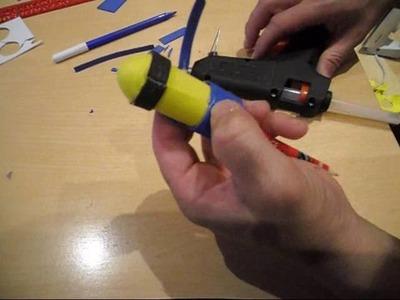 Como decorar un lápiz o bolígrafo con foami con forma de minion