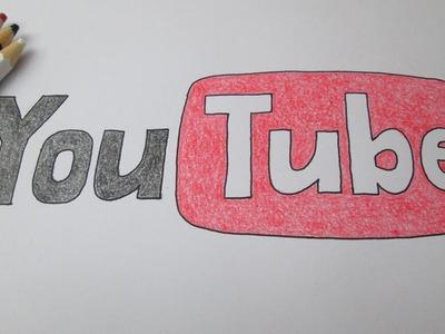 Cómo dibujar el logotipo de YouTube