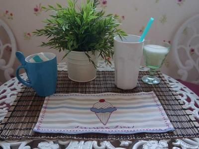 Cómo hacer manteles. mantelitos patchwork para café, merienda, comida