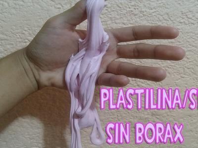 Como hacer plastilina.slime sin borax