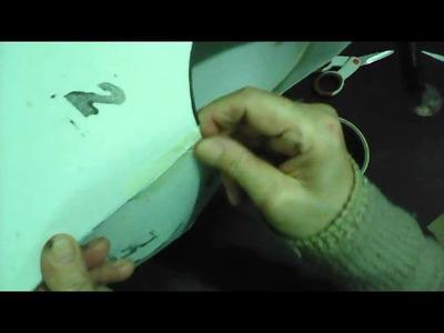 Como hacer un maniquí con moldes 3