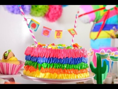 Cómo Hacer un Pastel Piñata | Fiesta 5 de Mayo