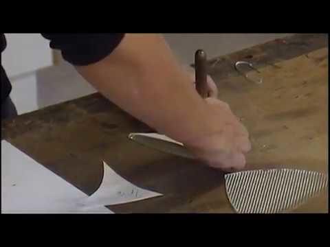Como hacer un vitral