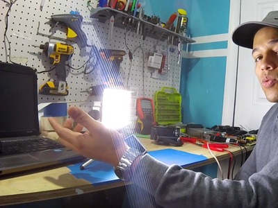 Como se hace, Lampara LED super brillante para video ● @todoinventostv #66