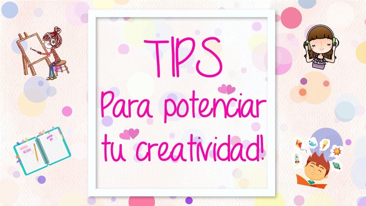CÓMO SER MÁS CREATIVO !! ♥