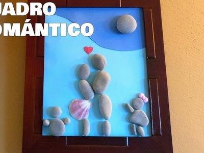 CUADRO ROMÁNTICO - MANUALIDADES FÁCILES Y BARATAS - LOVE PICTURE
