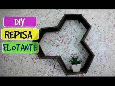 DECORA TU CUARTO CON ESTAS REPISAS!!! DIY
