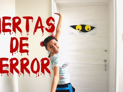 Decora Tus Puertas Para Halloween Lorena G ♥