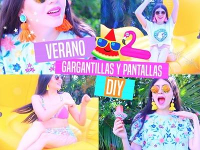 DIY Accesorios Para Verano - ¡Gargantilla y Pantallas!