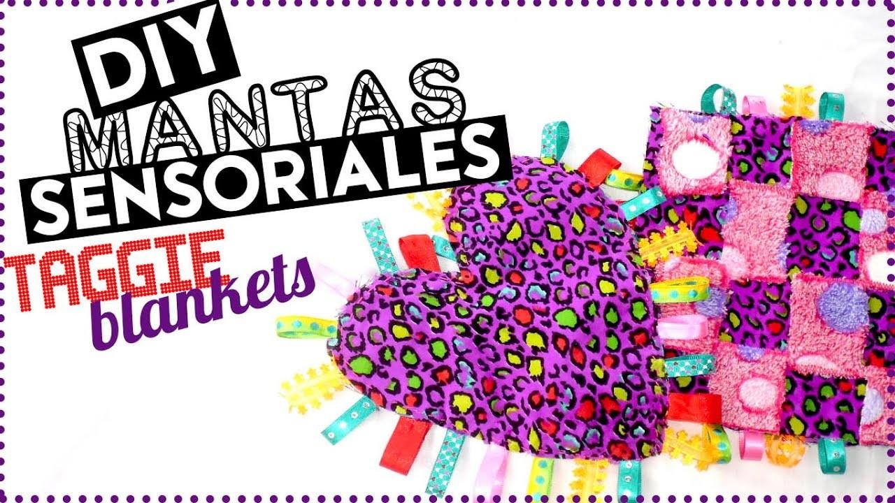 DIY MANTAS SENSORIALES O TAGGIE BLANKETS