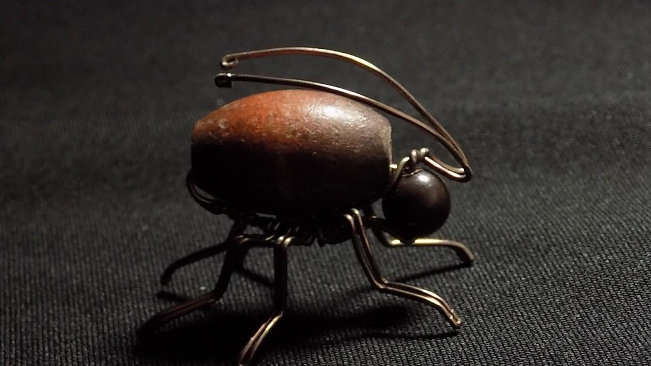 Escarabajo de alambre Tutorial, wire beetle tutorial