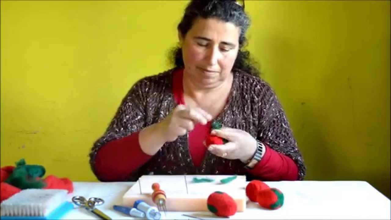 Frutilla en Fieltro - Fer Henriquez