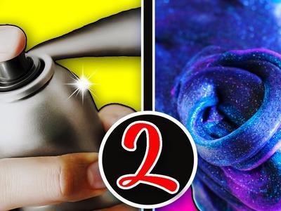 HAZ SLIME CON 2 INGREDIENTES ???? No BORAX, Almidón, Detergente, Solución de Lentes | NUEVAS RECETAS!