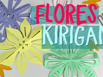 ¡Aprende a hacer flores de papel! ¿Cómo hacer flores de kirigami?