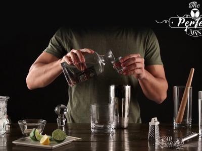 The Perfect Man Cocktail - Prepara Mojitos, Daiquiri de Limón y Marini