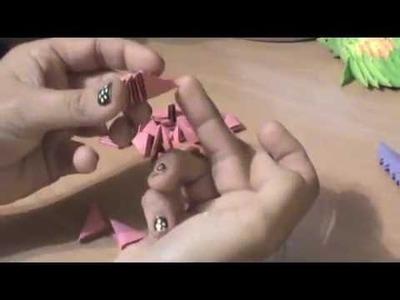 Tortuga origami 3D taller Aprende Conmigo1
