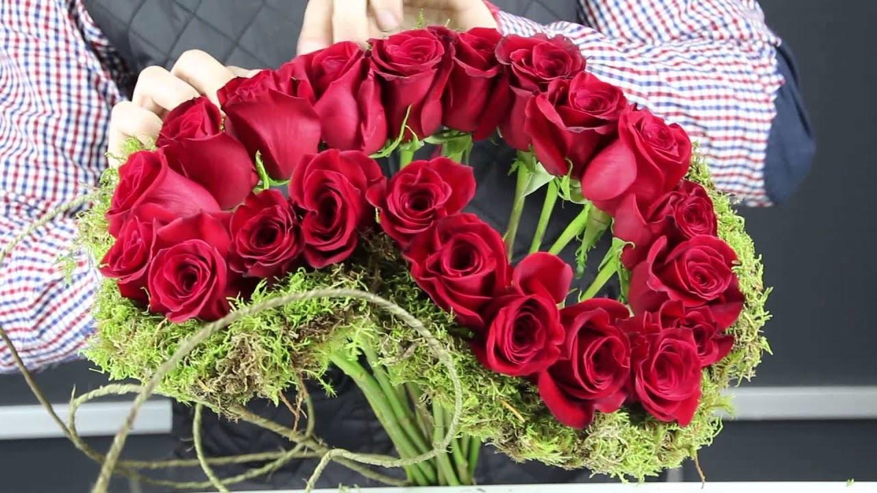 Tutorial: Ramo de rosas en forma de corazón con Miguel Puig