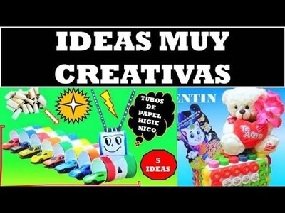 5 Creativas con tapas de Botella de plástico ( y Mas)