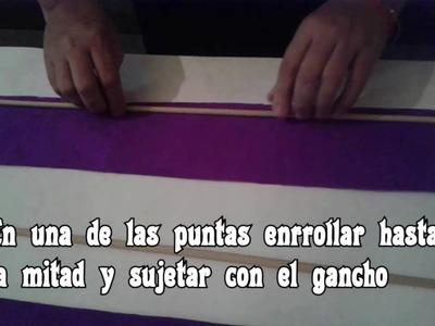 Churritos De Papel Crepe - Piñata Minions - Mi Villano Favorito - Despicable me