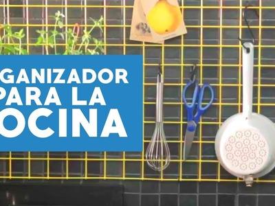 ¿Cómo hacer un organizador para la cocina?