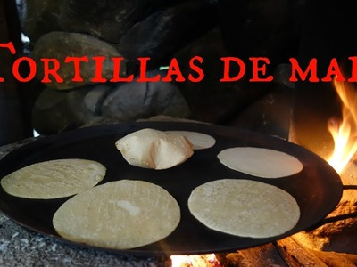 Como hacer tortillas de maíz a mano