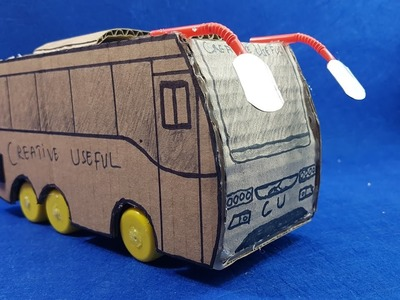 Cómo hacer un autobús con pilas Multi AXLE