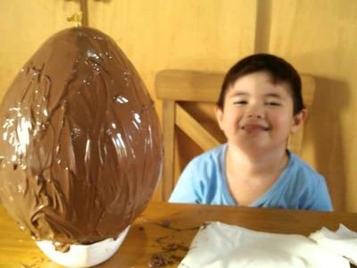 Como hacer un huevo de Pascua con un globo by Joaco
