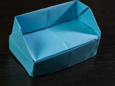 Como hacer un sofa de Papel  - Origami