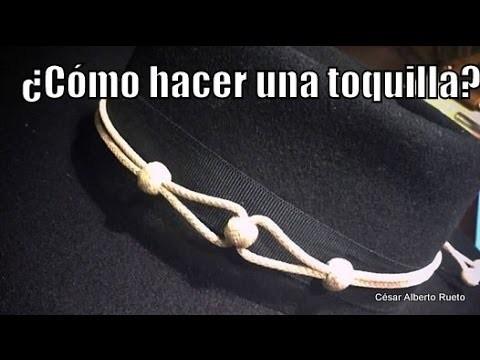 """Cómo hacer una Toquilla? """"El Rincón del Soguero"""""""