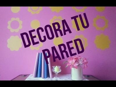DIY DECORA TU PARED (FACIL)