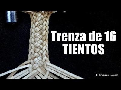 """Fácil y vistosa Trenza de 16 """"El Rincón del Soguero"""""""