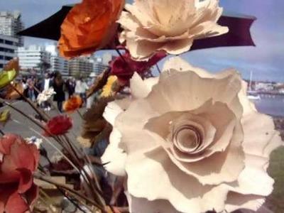 Flores de Madera en Punta del Este