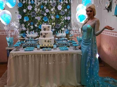 Frozen Party, Fiesta temática de Frozen con Elsa