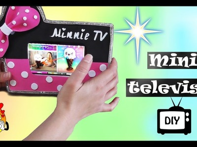 Ideas para regalar ¡¡MINI TELEVISOR para tu CELULAR!!   PORTACELULAR  de MINNIE   Mini TV