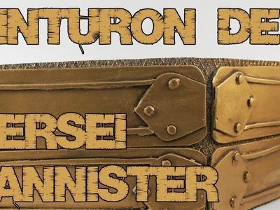 JUEGO DE TRONOS | Cómo hacer el cinturón de Cersei Lannister fácil