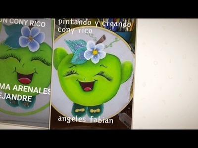 Labores Marzo 2017 Pintando y Creando Con Cony