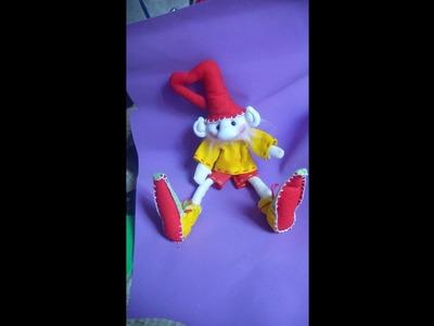 Muñecos Soft. .duende navidad facil  1.2 . .proyecto 43