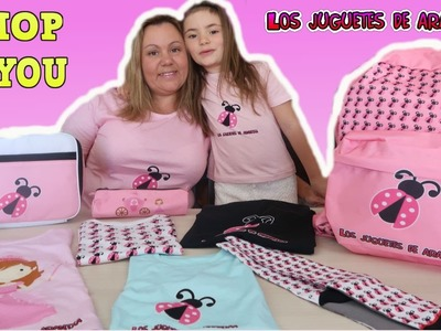 """Nuestros productos de """"Los Juguetes de Arantxa"""""""