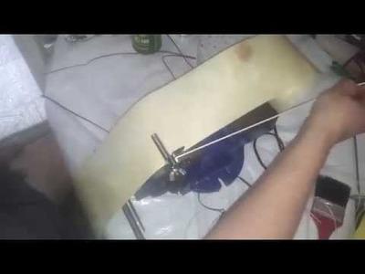 Otra forma de sacar tientos con la corta tiras