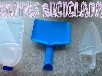 Palas y recogedor de botellas de plástico │ Candy Bu